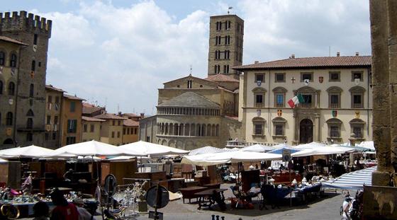Antiekmarkten in Toscane