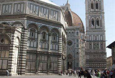 Kolossale koepel in Florence