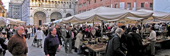 Markten in Lucca