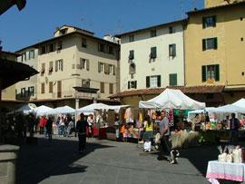 Markt in Pistoia