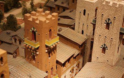 San Gimignano in het klein