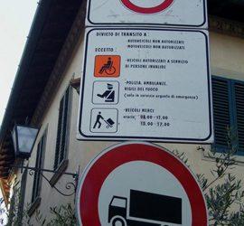 Tip: Zona Traffico Limitato