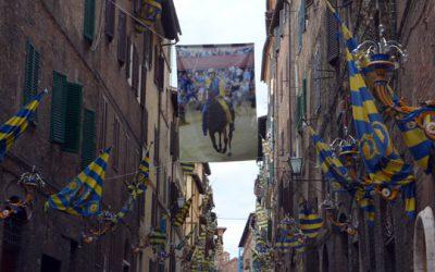 Palio op de Piazza del Campo in Siena