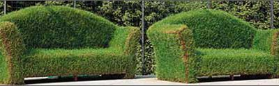 Tuin van een kunstenaar