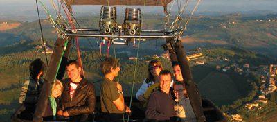 Ballonvaart over de Chianti