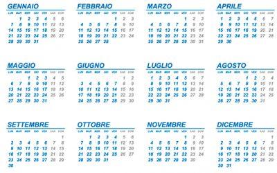 Dagen, weken, maanden