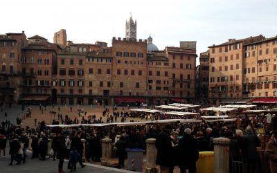 Markten in Siena